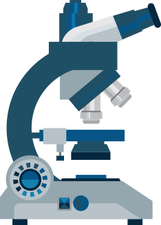 Data and Analytics Area Assessments microscope icon