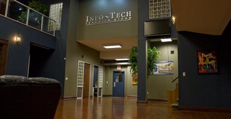 Info Tech lobby